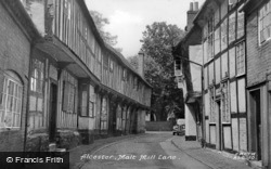 Malt Mill Lane c.1955, Alcester