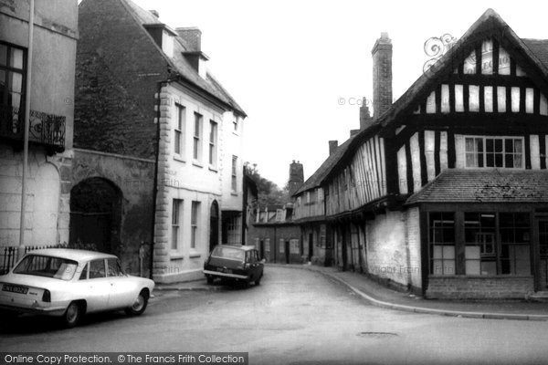 Alcester, Malt Mill Lane c.1965