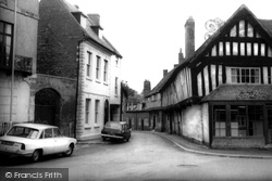Malt Mill Lane c.1965, Alcester