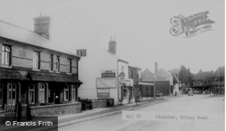 Priory Road c.1965, Alcester