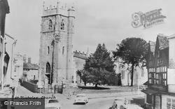 St Nicholas' Church c.1950, Alcester