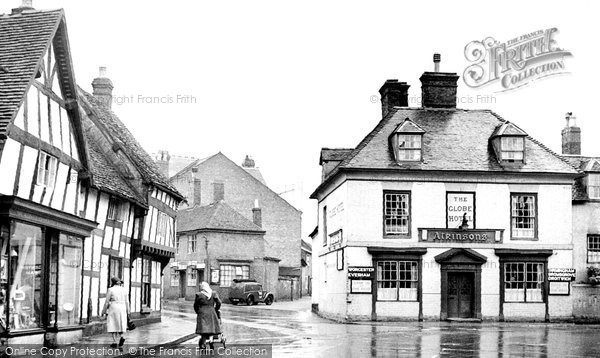 Photo of Alcester, Swan Street 1949