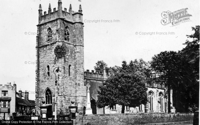 Photo of Alcester, The Church c.1955