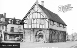 Alcester, Town Hall c.1955