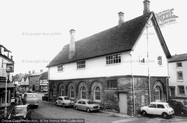 Photo of Alcester, Town Hall c.1965