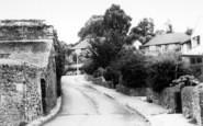 Alcombe, Barton Road c.1965
