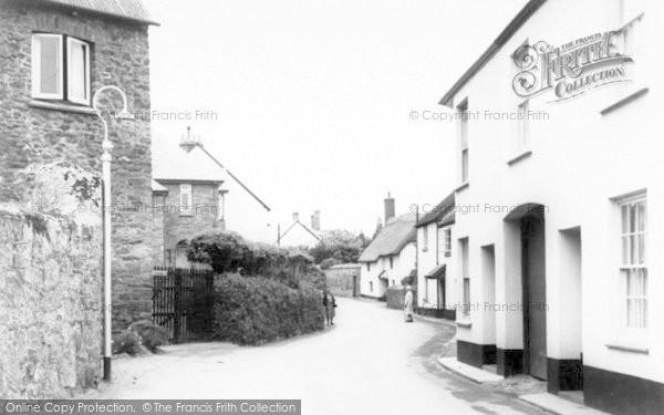 Photo of Alcombe, Church Street c.1965