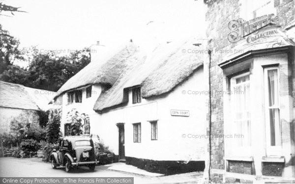 Photo of Alcombe, Stanley Cottage c.1955