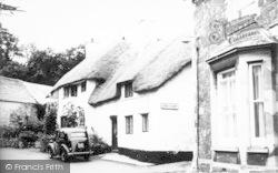 Alcombe, Stanley Cottage c.1955