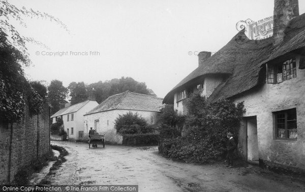 Photo of Alcombe, The Village 1912