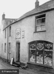 The Village Shop And Post Office 1912, Alcombe
