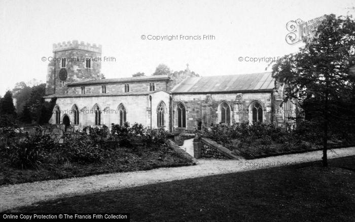 Photo of Aldborough, Church 1895