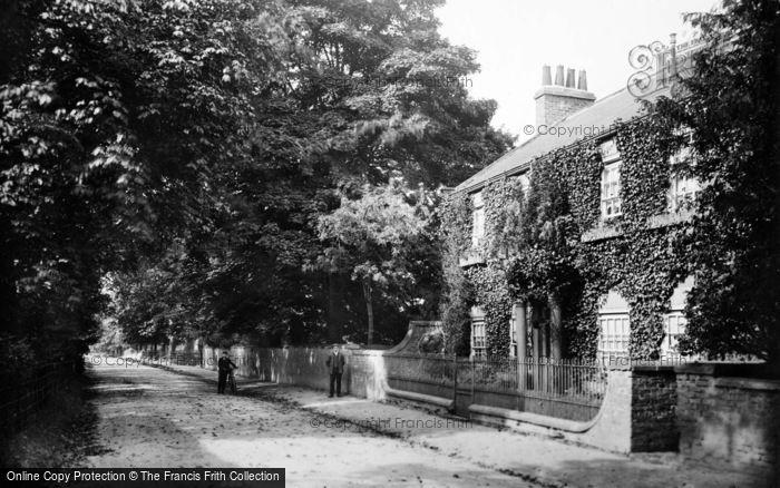 Photo of Aldborough, Lodge And Road 1907