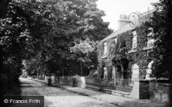 Aldborough, Lodge And Road 1907