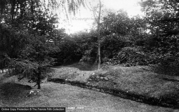 Photo of Aldborough, Manor House Gardens 1895