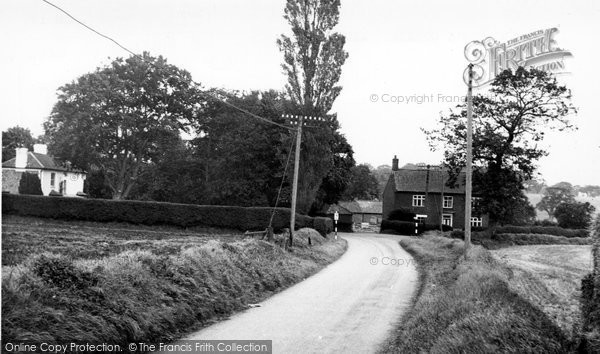 Photo of Aldborough, Near Doctor's Corner c.1955