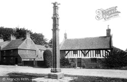 Aldborough, Old House And Cross 1895