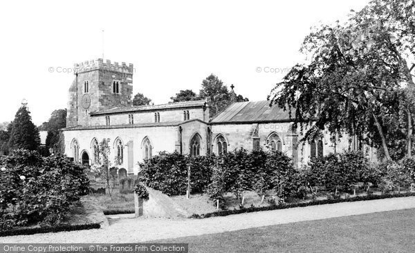 Aldborough, Church 1907