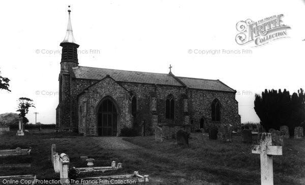 Aldborough, St Mary's Church c.1955