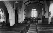 Aldborough, The Church, Interior c.1955