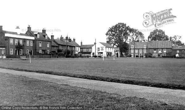 Photo of Aldborough, The Green c.1955