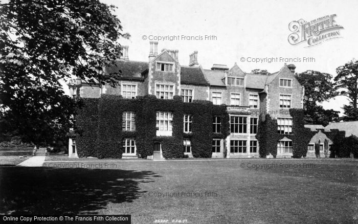 Photo of Aldborough, The Hall 1895