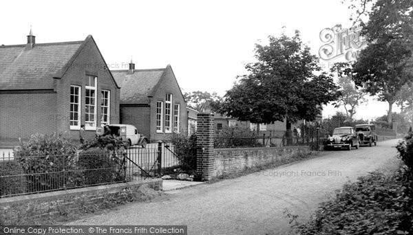 Photo of Aldborough, The School c.1955