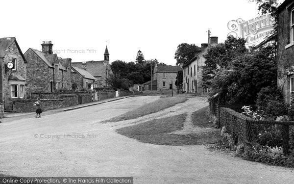 Photo of Aldborough, The Village c.1955