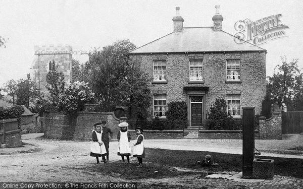 Photo of Aldborough, The Village Pump 1895