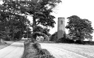 Aldborough, Thwaite, All Saints' Church c.1955