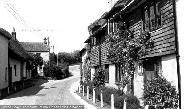 Photo of Aldbourne, Castle Street c.1965