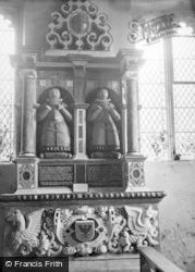 Aldbourne, Church, Edward & William Walrond's Tomb 1950