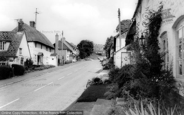 Photo of Aldbourne, Cottages c.1965