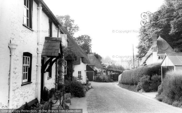 Photo of Aldbourne, Thatched Cottages c.1965