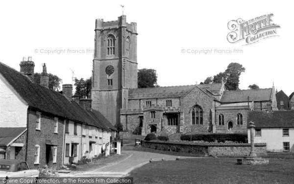 Photo of Aldbourne, The Green c.1965