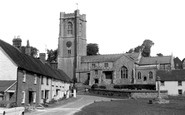 Aldbourne, The Green c.1965