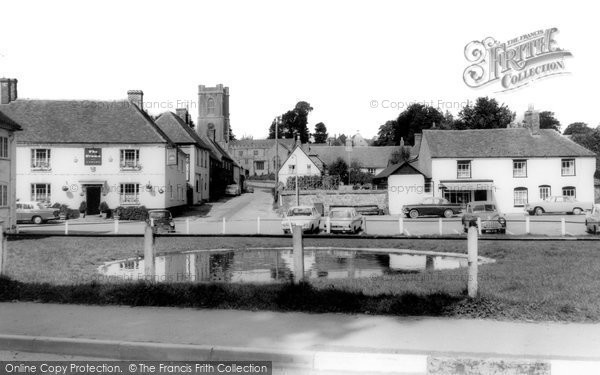 Photo of Aldbourne, The Village c.1965