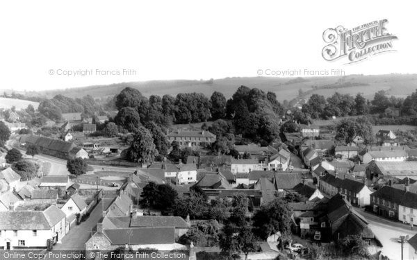 Photo of Aldbourne, View From The Church Tower c.1965