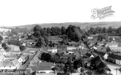 Aldbourne, View From The Church Tower c.1965