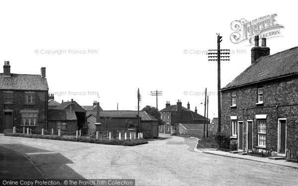 Photo of Aldbrough, Church Street c.1960
