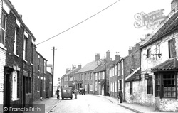 Aldbrough, Hornsea Road c.1955