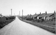 Aldbrough, Seaside Road c.1955