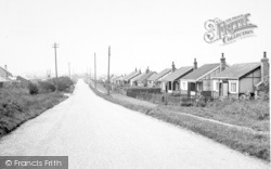 Aldbrough, Seaside Road c.1955