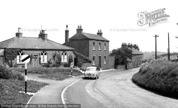 Photo of Aldbrough, Seaside Road c.1960