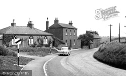 Aldbrough, Seaside Road c.1960