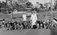 Aldbrough St John, Fox Hounds And Trainers c.1950