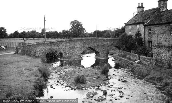 Photo of Aldbrough St John, The Bridge c.1955