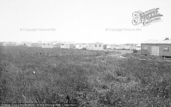 Photo of Aldbrough, The Caravan Site c.1955