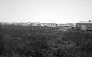 Aldbrough, The Caravan Site c.1955