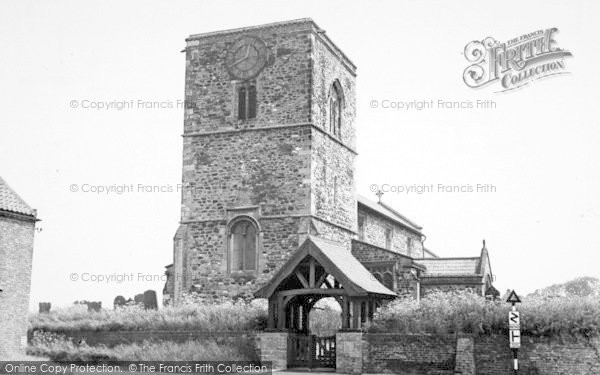 Photo of Aldbrough, The Church And Lychgate c.1960